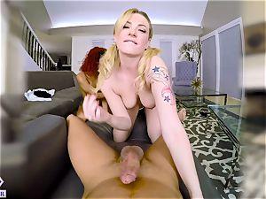 Hologirls vr presents fuck a blonde a brunette a redhead